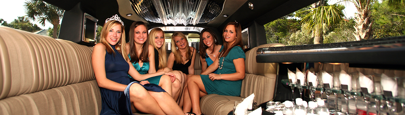 Luxury Bachelor Party Bus Limousine Service San Bernardino