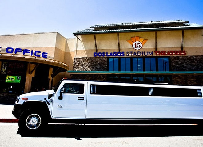 Stretch SUV limo rental in San Bernardino