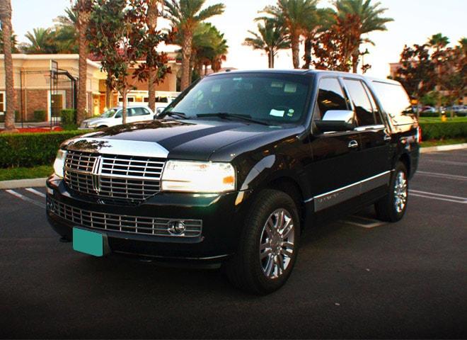 SUV Limousine Rental in San Bernardino