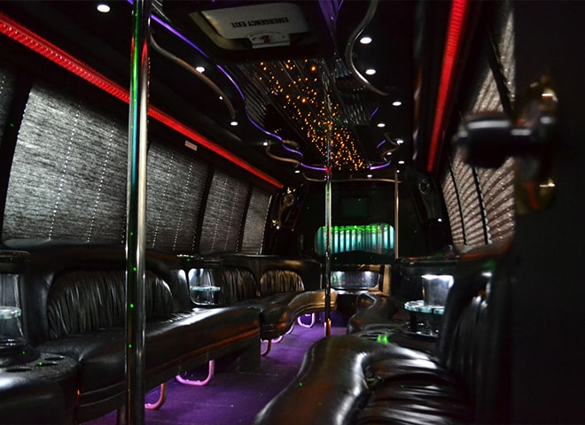 Luxurious Party Bus Services in California