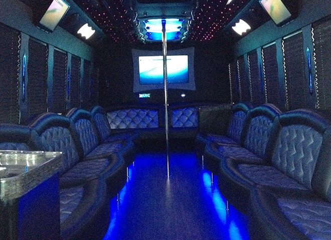 Luxurious Party Bus Rental in California