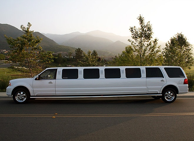 Executive Stretch SUV limo in San Bernardino