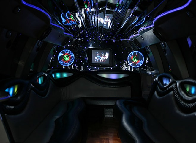 Exclusive Stretch SUV limo in San Bernardino
