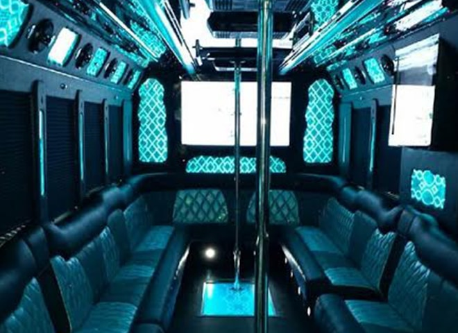 Party Bus Services Online Booking in San Bernardino